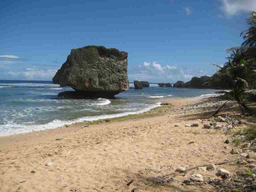 Plaja in Barbados