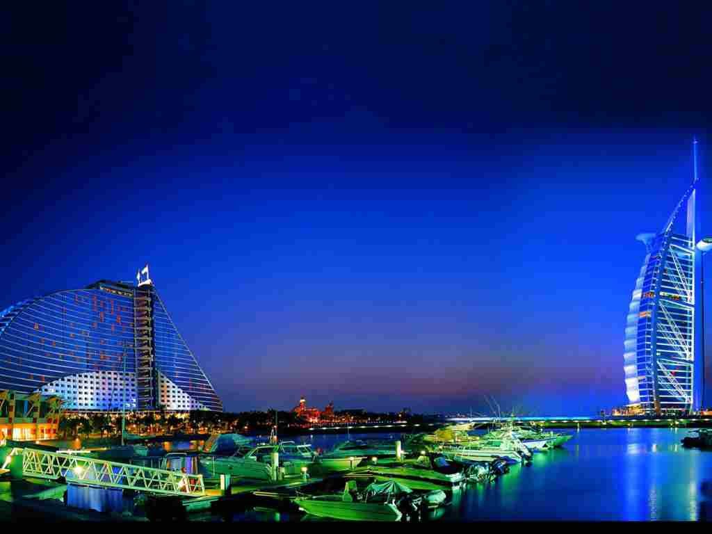 Noaptea in Dubai