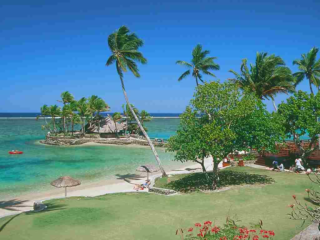 Plaja in Fiji