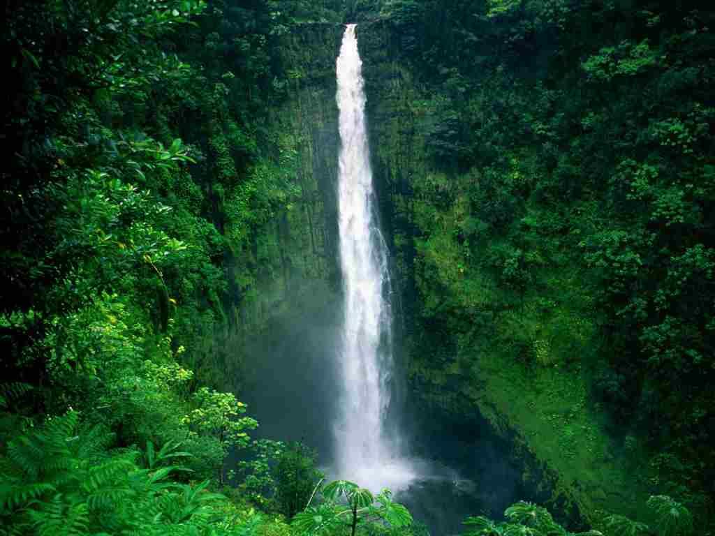 Cascada Akaka, Hawaii