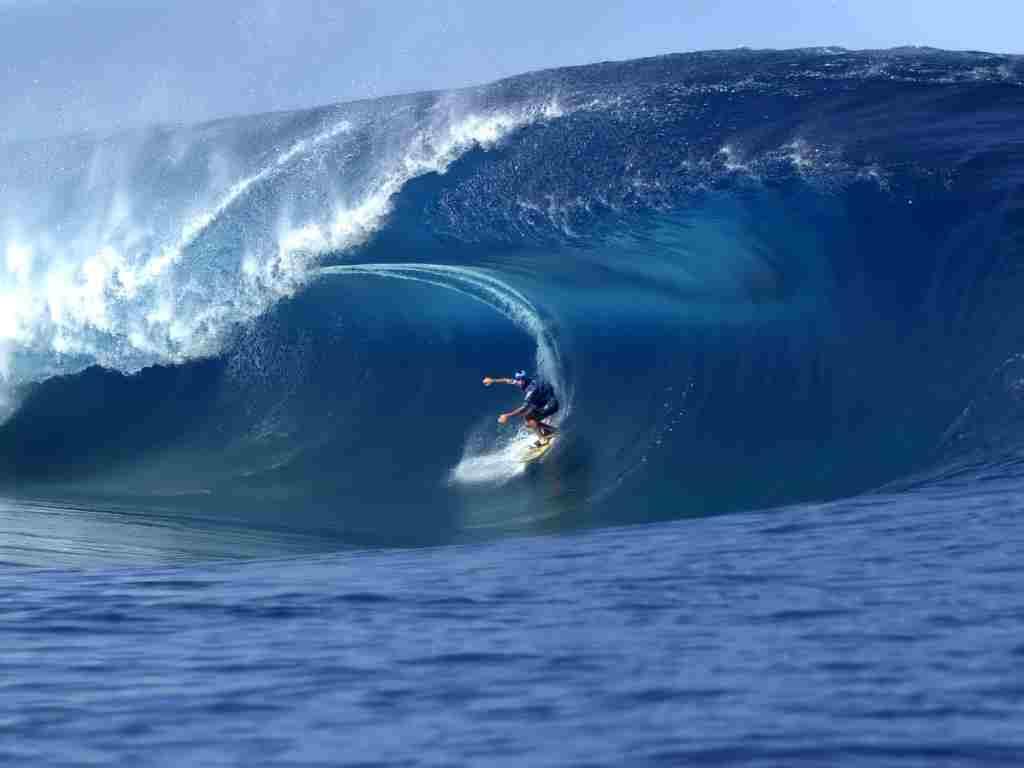 Surfind in Hawaii