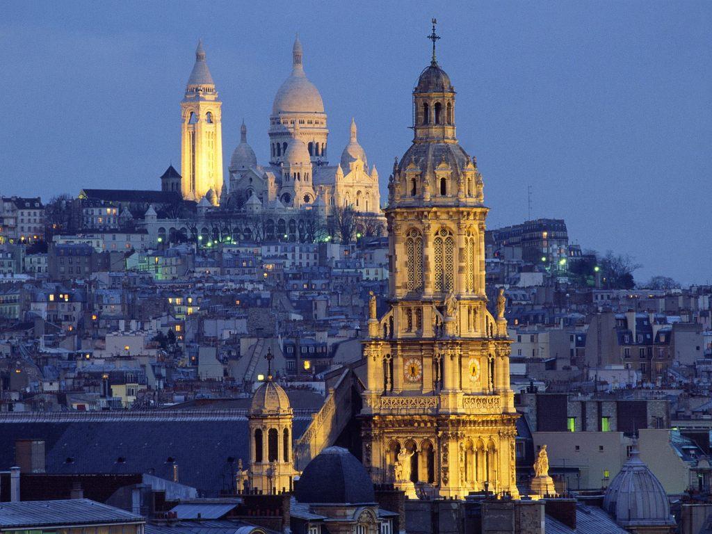Luna de miere in Paris