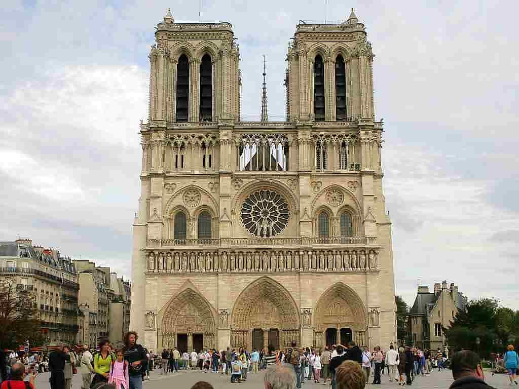 Paris, Catedrala Notre-Dame